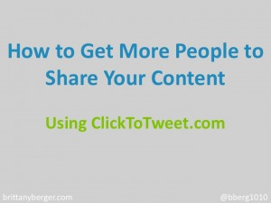 Content Marketing: How to Get More People to Share Your Content