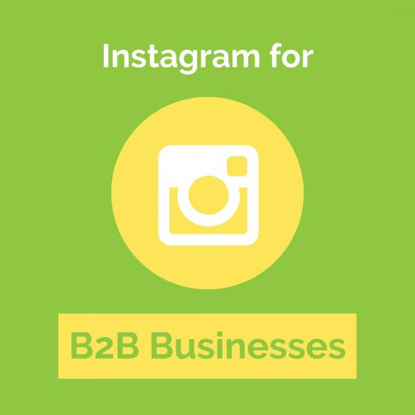 Instagram for B2B Businesses