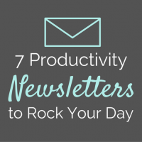 My 7 Favorite Productivity Newsletters to Rock Your Day