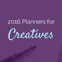 3 Colorful 2016 Planners for Creative Entrepreneurs