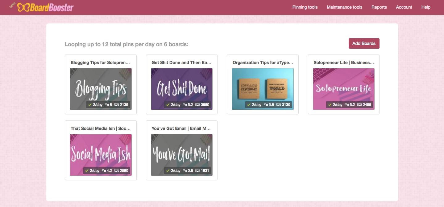 boardbooster online business tools