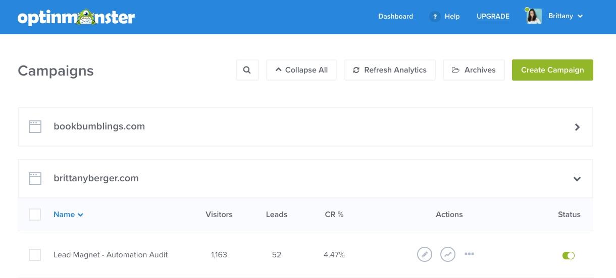 optinmonster online business tools