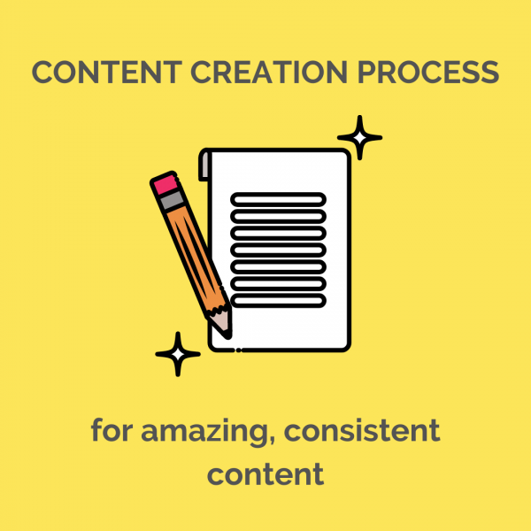 content creation process for amazing consistent content