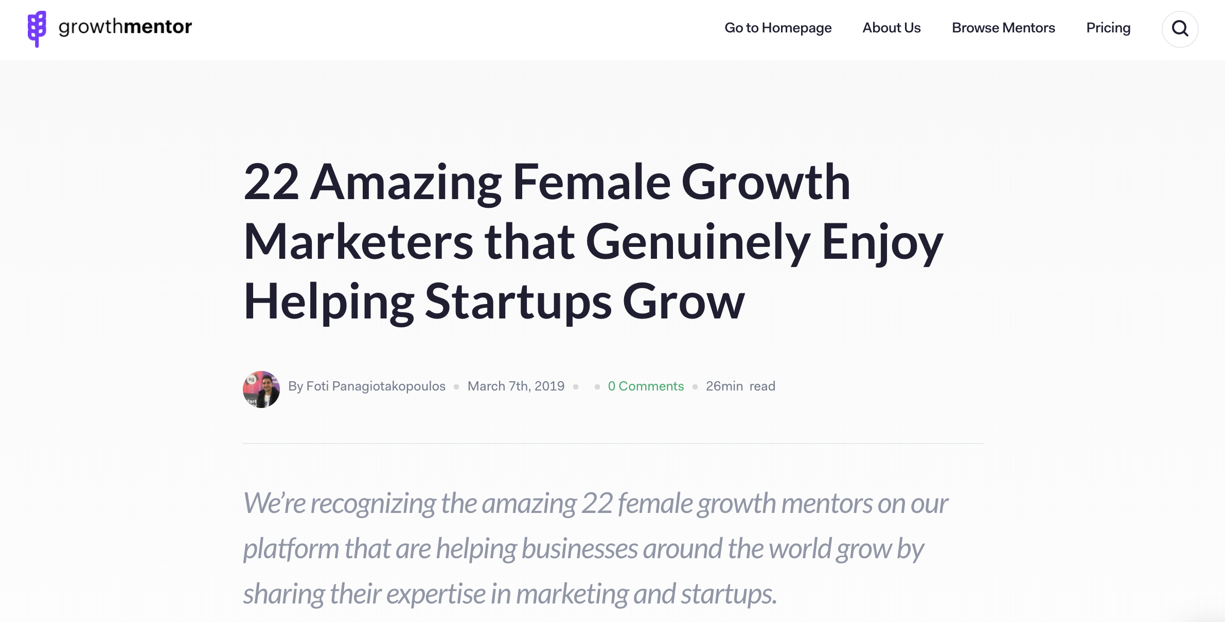 22 Amazing Female Growth Marketers that Genuinely Enjoy Helping Startups Grow