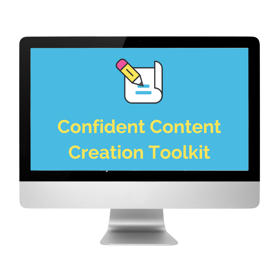 Confident Content Creation Toolkit Promo Shot